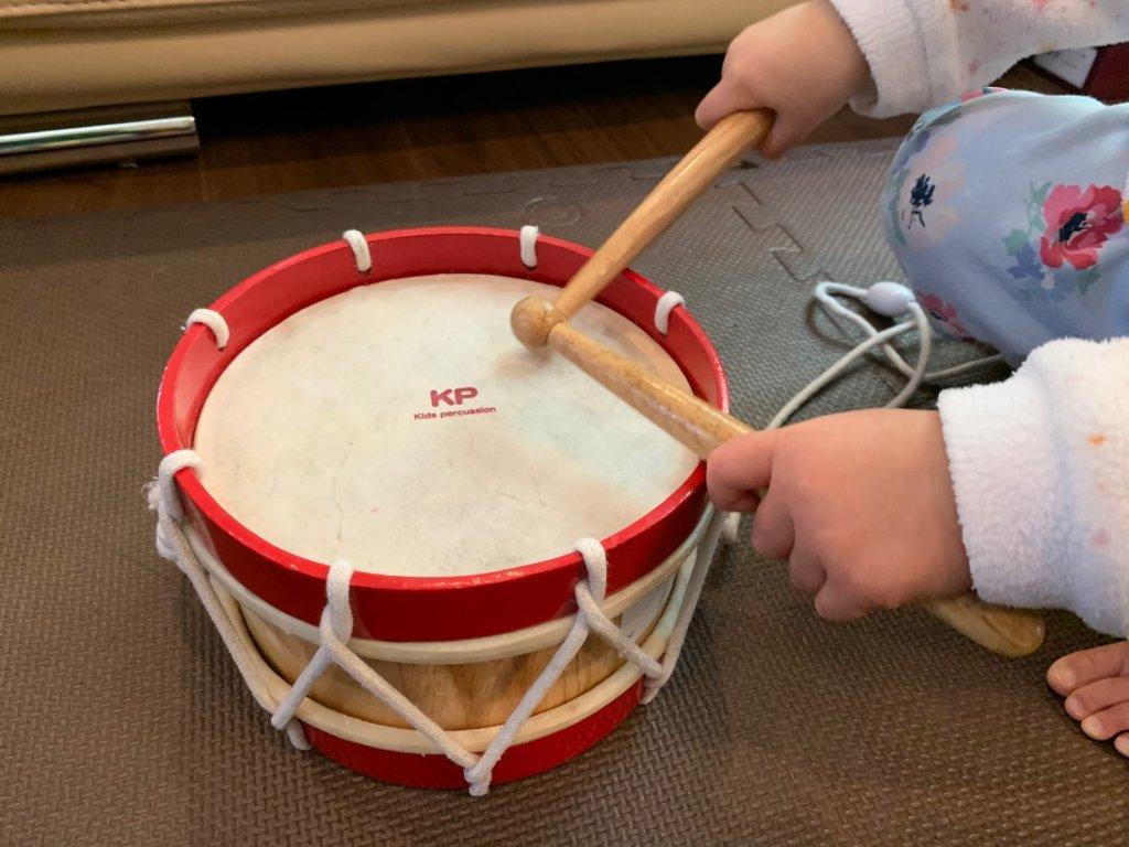 キッズラボラトリー おもちゃ ナカノ キッズドラム