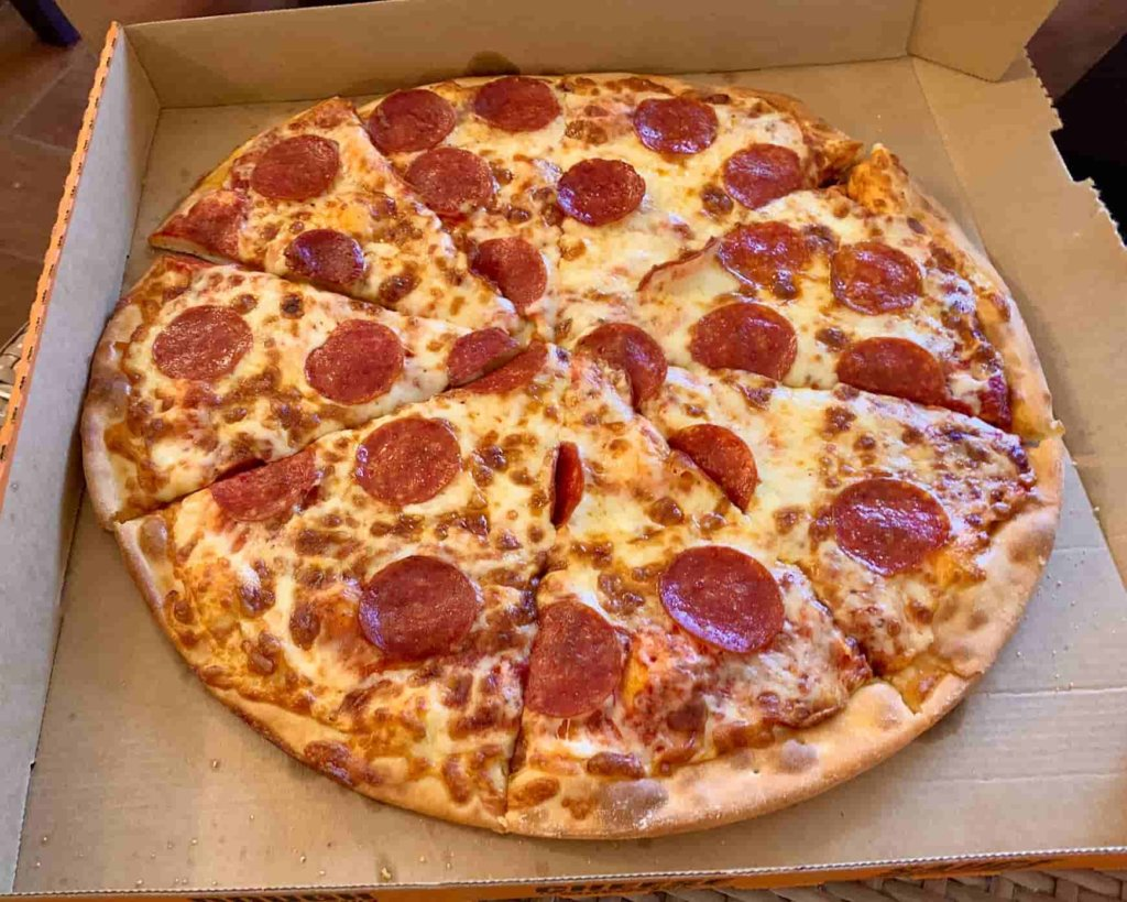 Kマートのピザ