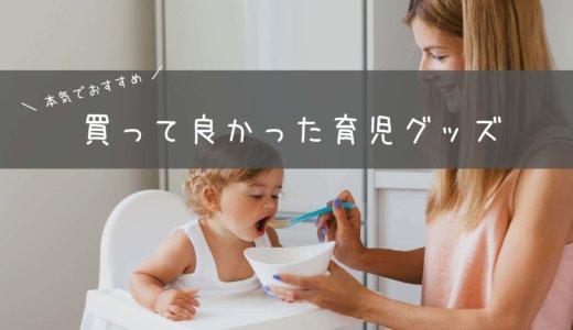 買ってよかった育児グッズ5選!【本気でおすすめする便利なものだけ厳選】