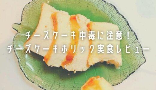 【チーズケーキホリック口コミ】口いっぱいに広がる魅惑の味!実際に食べてみた